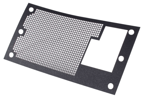 A gasket with complicated hole patterns